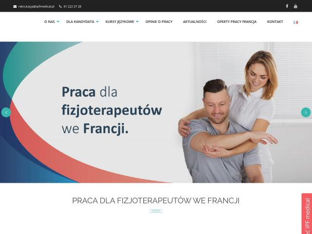 IPF medical Sp. z o.o. - Praca we francji